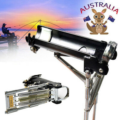 Automatic Fishing Rod Stand Holder Stainless Steel Adjustable Pole Bracket AU