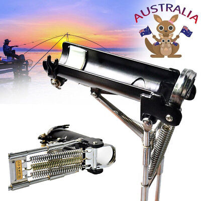 Portable Automatic Fishing Rod Rest Holder Stainless Steel Fishing Pole Stand AU