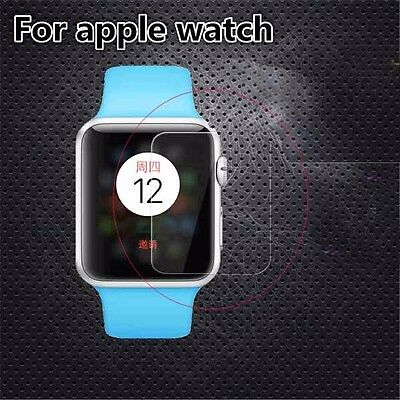 AQX001-Screen Protector Guard Cover 2.7D Tempered  Glass  For Apple iwatch 42mm