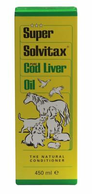 Bob Martin Super Solvitax Pure Cod Liver Oil Pet Animal Cat & Dog Supplements