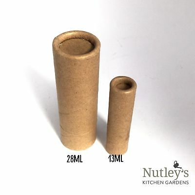 Nutley's Cardboard Lip Balm Tubes Biodegradable Natural Recyclable 14ml 1/2 oz