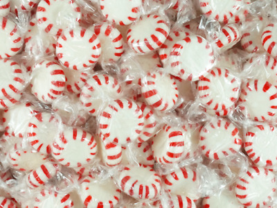 Starlight MINTS Red 1kg Bag Wrapped Lollies