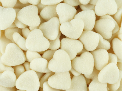 Sour Hearts White 1kg Bag lollies