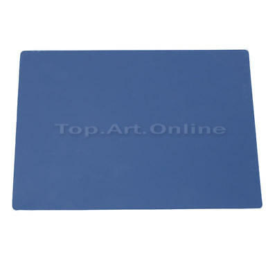 A4 Cutting Mat Board Non-Slip Self Healing Model Makers Crafts Grid Plate Blue