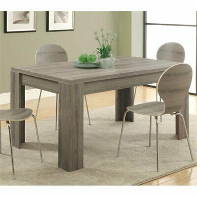 Atlin Designs Dining Table in Dark Taupe
