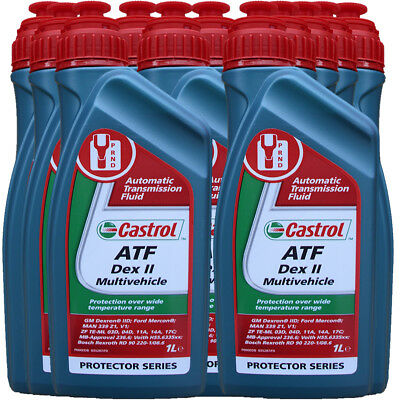 11X1 Liter Castrol ATF Dex II Multivehicle Automatikgetriebeöl OPEL MAN MERCEDES