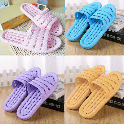 Bath / Shower / Spa Womens Plastic Soft Slippers Casual Non-Slip Flat Sandals
