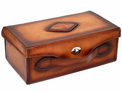 Paul Parkman Handcrafted Leather Shoe Case (ID#625CASE)