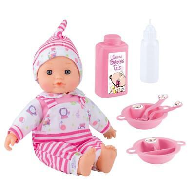 Girls Boys Deluxe Baby Doll Olivia Interactive Sounds & Accessories Playset Gift