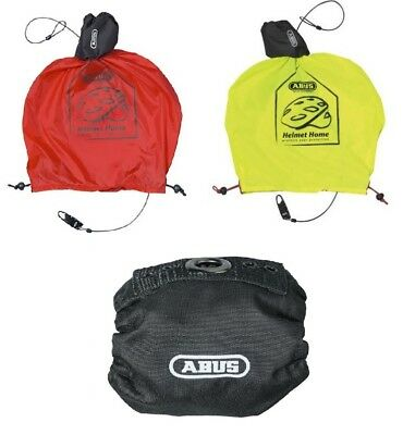 ABUS Helmet Home Bicycle - rain cover with drinkable cable lock, Water resistant