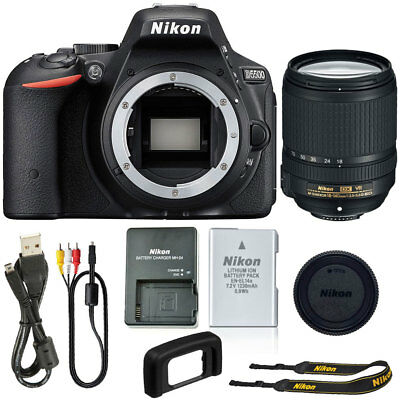 Nikon D5500 24.2 Digital SLR Camera with Nikon 18-140mm f/3.5-5.6G ED Zoom Lens