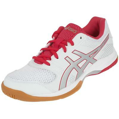 Chaussures volley ball Asics Rocket 8 gel wht volley l Blanc 59551 - Neuf