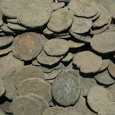 Uncleaned Roman Coin Starter Kit by Vx Investments. 10 ancient coins cleaning 27