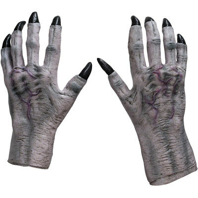 Adult White Monster Claws Costume Accessory