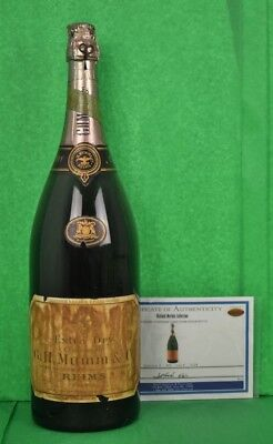 G.H Mumm Champagne Store Display Bottle from the Richard Merkin estate!~