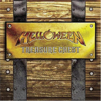 treasure chest 3 CD SET HELLOWEEN oop