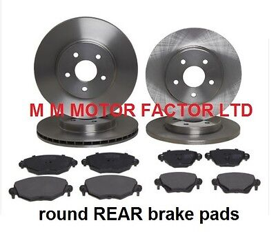 Jaguar X-Type (00-) 1.8 2.0 2.2 2.5 Front And Rear Brake Discs And Pads Set