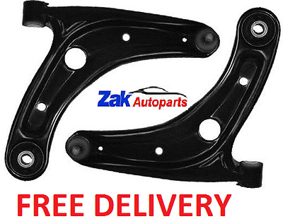 Honda Jazz 02-08 Front 2 Lower Wishbone Suspension Arms Ball Joint & Bushes NEW