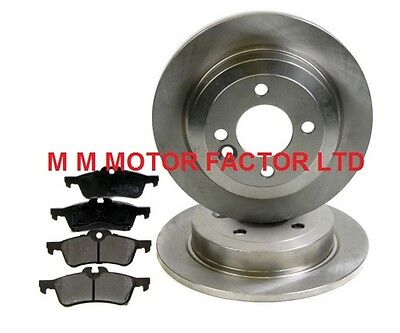 New Shape Mini One Cooper S Cooper S (01-07) Rear Brake Discs And Pads Set