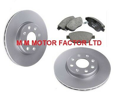 VAUXHALL CORSA D (06-14) 1.0 1.2 1.3 CDTi 1.4 FRONT BRAKE DISCS AND PADS NEW