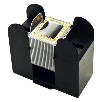 6 Deck Automatic Card Shuffler use for Blackjack, Poker, Other Casino Card Games