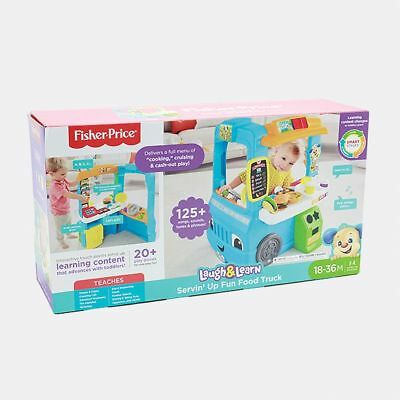 NEW Fisher-Price Laugh & Learn Servin' Up Fun Food Truck