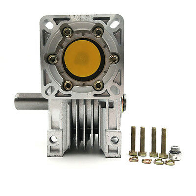 NMRV050 Worm Gearbox Geared Ratio 10:1 Speed Reducer for Stepper Motor