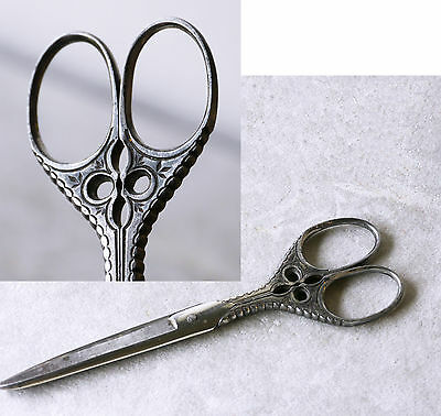 Beautiful antique scissors, Crown Cutlery, Germany