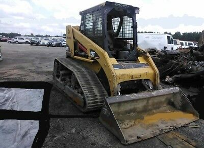 2906 Cat 267B skidsteer Loader Track Machine LOw low hours