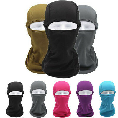 New Outdoor Motorcycle Bike Riding Full Face Mask Head Cover Balaclava Tactical