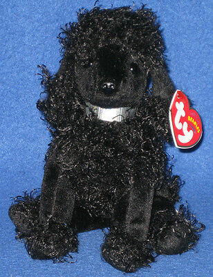 TY  BIJOUX the POODLE BEANIE BABY - MINT with MINT TAGS