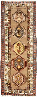 "Antique Caucasian runner rug. . 3'10""x 9'10"""