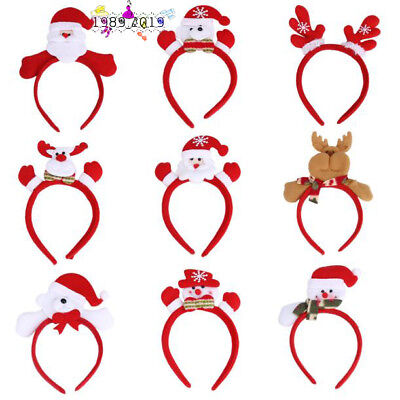 Christmas Party Hair Accessory Baby Child Snomen Decoration Home Party Head Hoop