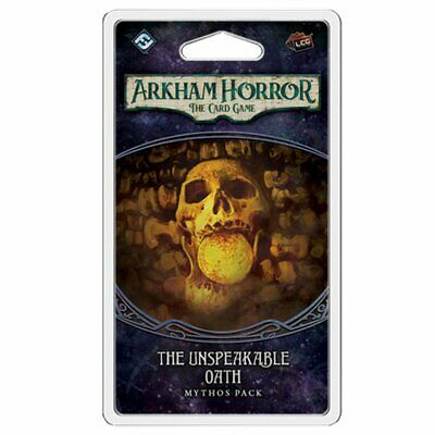 Arkham Horror LCG The Unspeakable Oath Expansion Pack Board Game