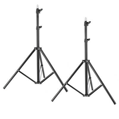 "Neewer 2 Pack 75""/6 Feet/190CM Photography Light Stands for Relfectors Softboxes"