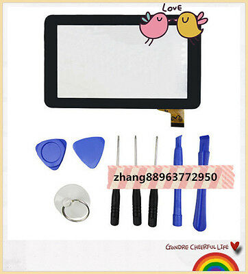 NEW Y7Y007 (86V) TPT-070-134 ZHC-059B  Parts Touch Screen Digitize+tools@zhang