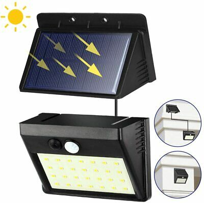 2 in 1 Solar Power PIR Motion Sensor 28 LED Wall Light In/Outdoor Security Lamp