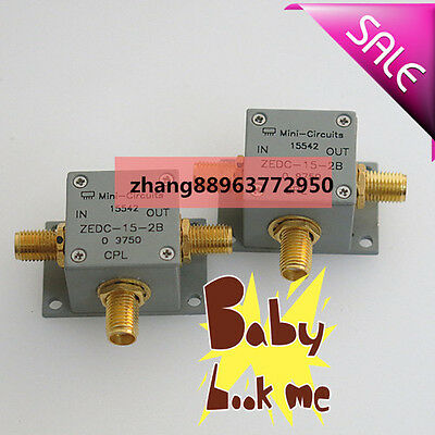 1 PC Mini-circuits ZEDC-15-2B 1-1000MHz 15dB RF Coaxial Directional Coupler zh88