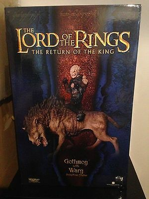 Lord of the Rings Sideshow Weta Gothmog on Warg