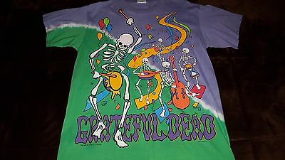 Grateful Dead 1991-92 New Years Eve Oakland Coliseum Concert Shirt *X-LARGE