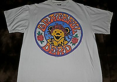 Grateful Dead 1994 Bear and Roses Print - XLARGE