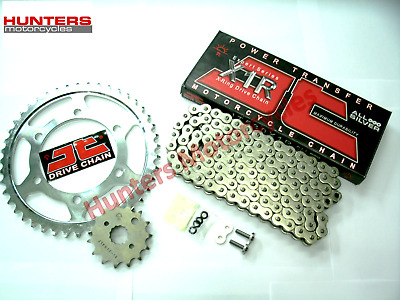 Honda CBF600 2004 to 2007 (PC38) JT Silver X-Ring Chain & JT Sprockets Kit Set
