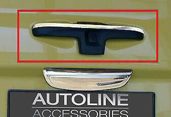 Upper Chrome Rear Door Handle Cover Tailgate Trim To Fit Renault Trafic (02-14)