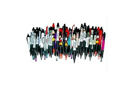 175 Wholesale Lot Misprint Ink Pens, Ball Point, Plastic, Retractable