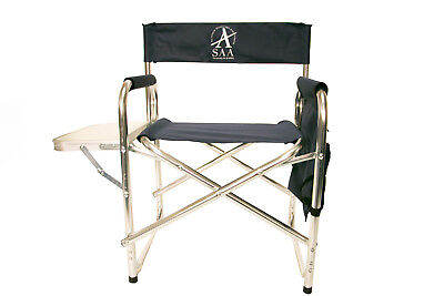 Lightweight Outdoor Artists Chair with Right Hand Table