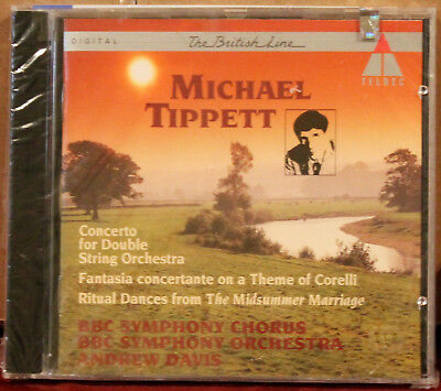 TELDEC CD: Tippett: Concerto for Double String Orch. Andrew DAVIS - 1996 GERMANY