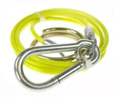 Breakaway Cable Yellow With Burst Ring For Trailer And Caravan Maypole Mp5015B