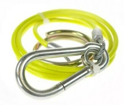 Trailer Breakaway Cable Yellow With Burst Ring For Caravan Maypole Mp5015B