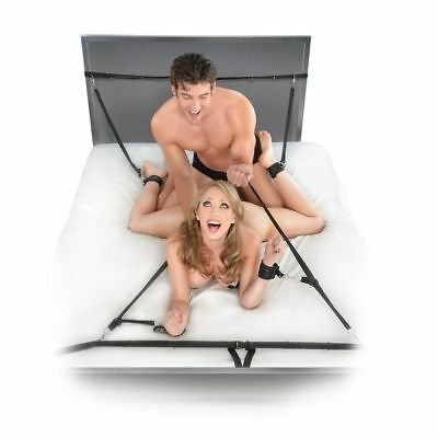 Fetish Fantasy Kit Ataduras Para La Cama | Fetish Fantasy Series