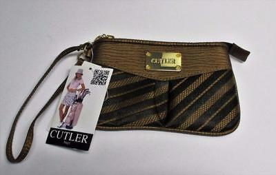 Brand New Cutler bag wrist golf purse